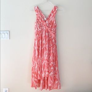 Anthropologie Postmark Coral Dress Size 2